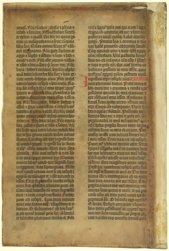 Gutenbergs Bible Was The First Platform On Which A Metal Font Stood Circa 1455