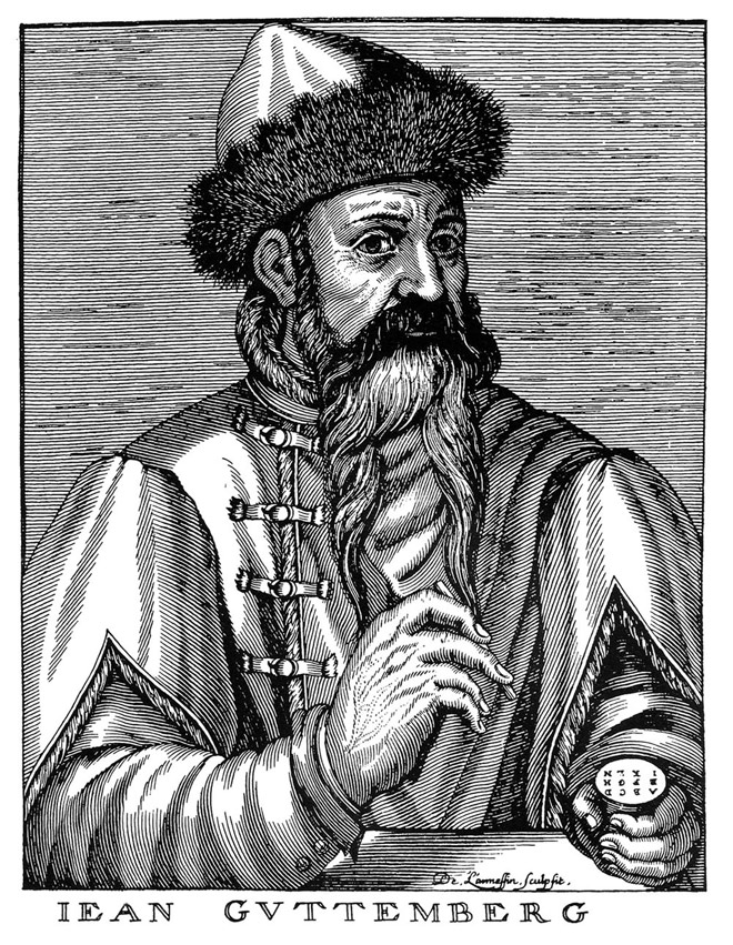 Gutenberg and the Book that Changed the World - Retinart