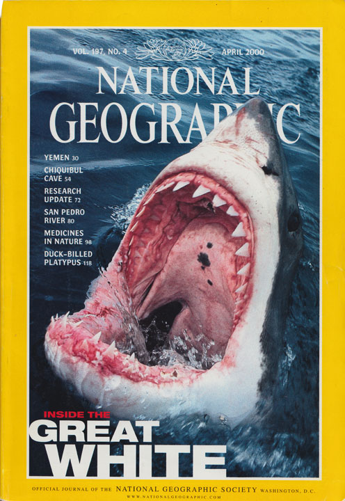 National Geographic journal cover