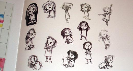Pixar Character Design Book : To infinity and beyond retinart