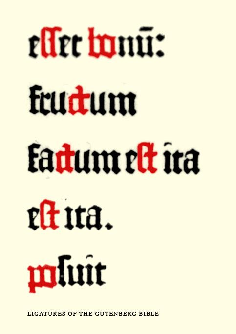 image gallery ligature letters